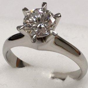 ダイヤモンドリング1.033Ct Pt900 リング 1.033Ct Pt900