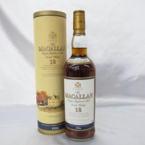 ザ・マッカラン 18年 マッカラン 18年 1986