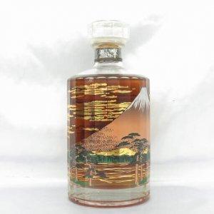 響 21年 意匠ボトル 『富士風雲図』 黒箱 本体のみ