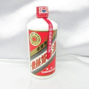 貴州茅台酒 マオタイ酒 五星麦ラベル 500ml 53% 2001年