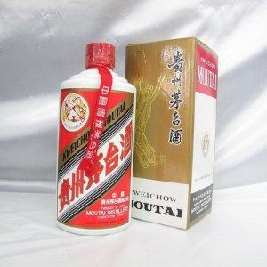 貴州茅台酒 マオタイ酒 天女ラベル 500ml 53% 1996年 箱付