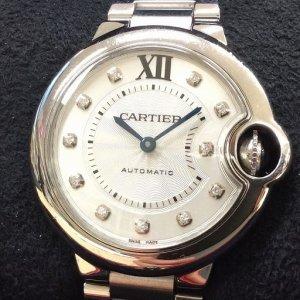 カルティエ バロンブルー WE902074