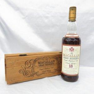 ザ・マッカラン 18年 グランレゼルバ 1980-1999 木箱付き